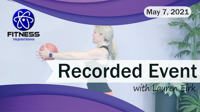 Recorded | Live Event with Lauren Eir...