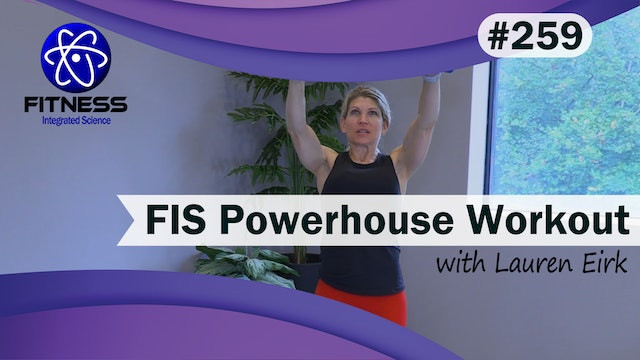 Video 259 | Powerhouse Workout (30 minutes) with Lauren Eirk