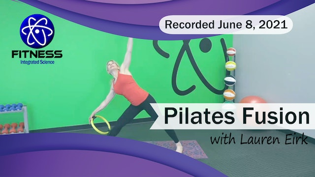 Recorded | Live Event with Lauren Eirk  June 8th @ 9:30am | Pilates Ring Workout