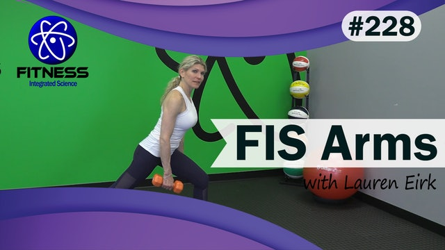 Video 228   FIS Arms (40 Minute Workout) with Lauren EIrk