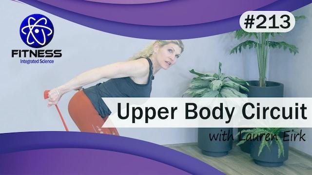 Video 213  | Upper Body Circuit with Lauren Eirk