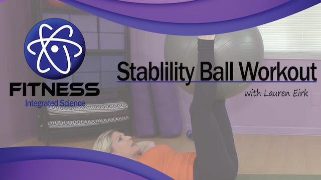 Video 073 | Stability Ball Workout (4...