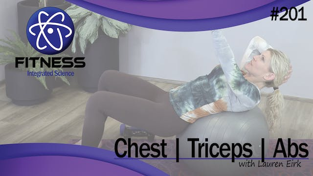 Video 201 | Chest, Triceps, and Abs (...