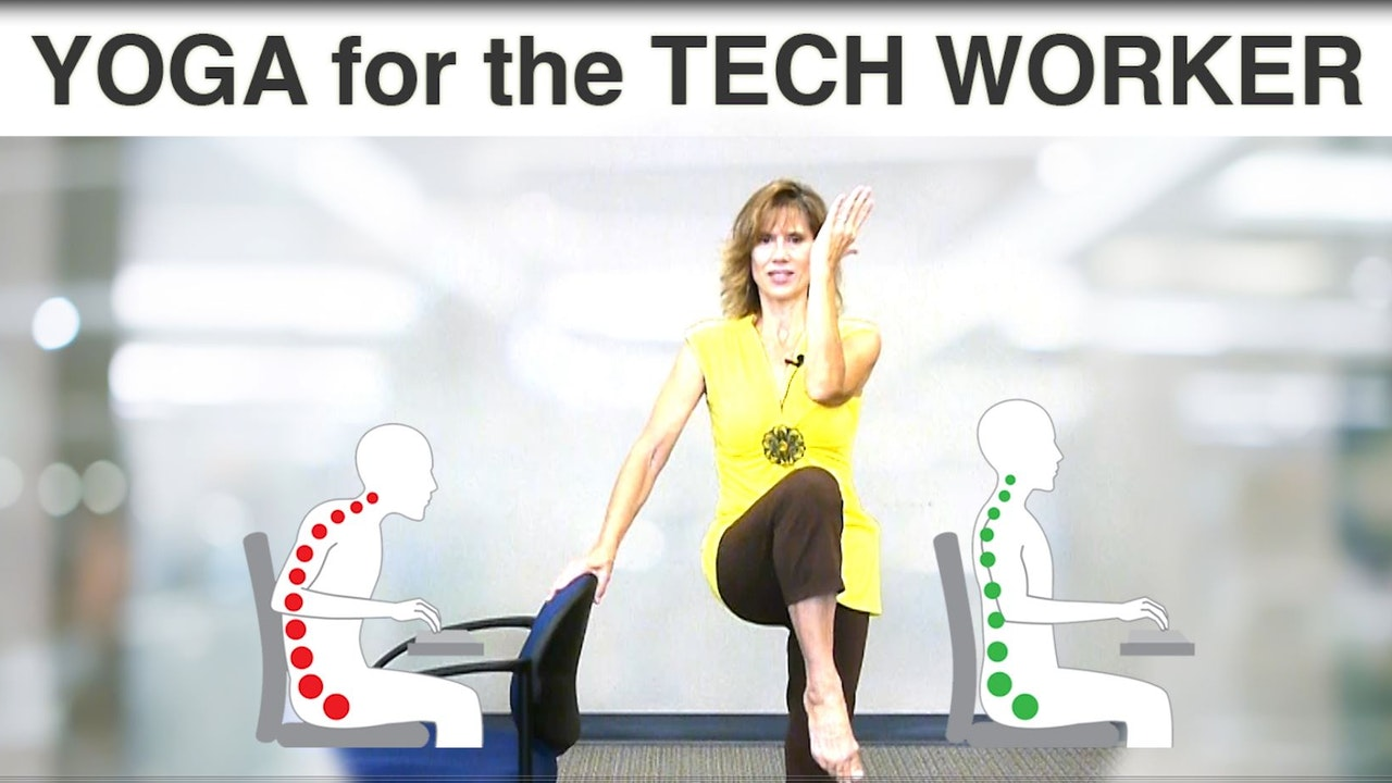 Tech Worker: Chair Yoga Series