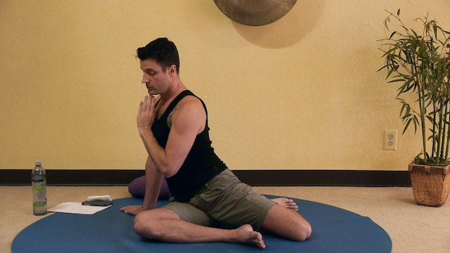 (50-Min) Explore, Sense & Move Gentle Somatic Yoga with James Knight