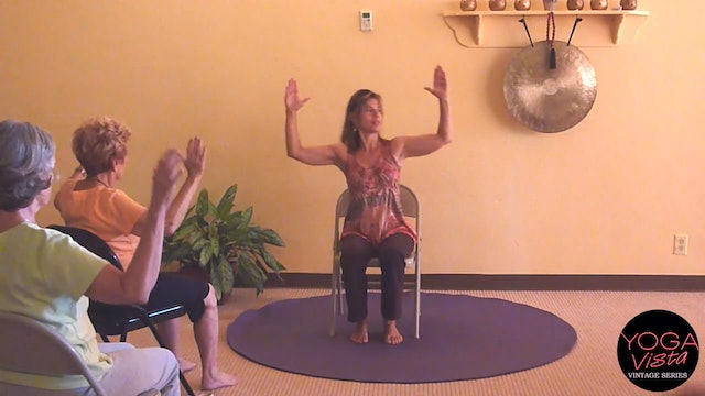 (40-min) For your Knees - Chair Yoga Class with Sherry Zak Morris