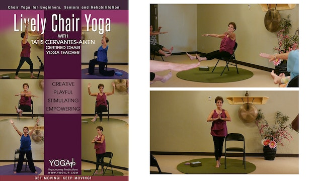 Lively Chair Yoga with Tatis Cervantes-Aiken