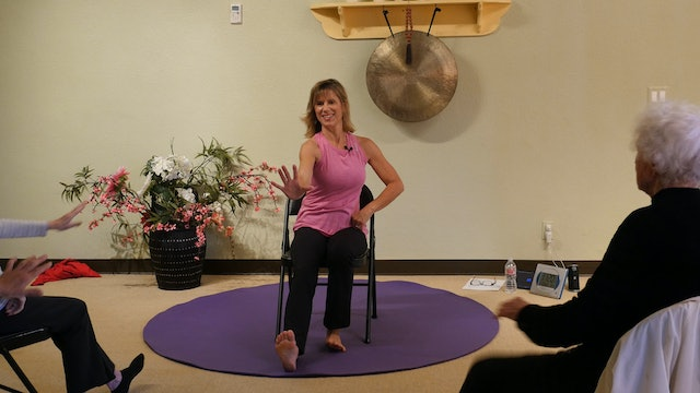 Everybody Wants to Go To Heaven - Heel Stomping Country Yoga Dance with Sherry