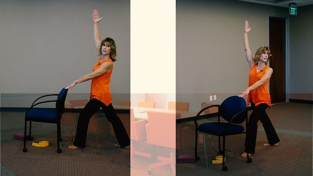 (30-min) Chair Yoga Class to Get you Aligned with Sherry Zak Morris