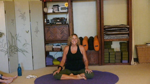 (1 Hr) Aloha Viniyoga Class for Healing what Aches You with Justine Shelton