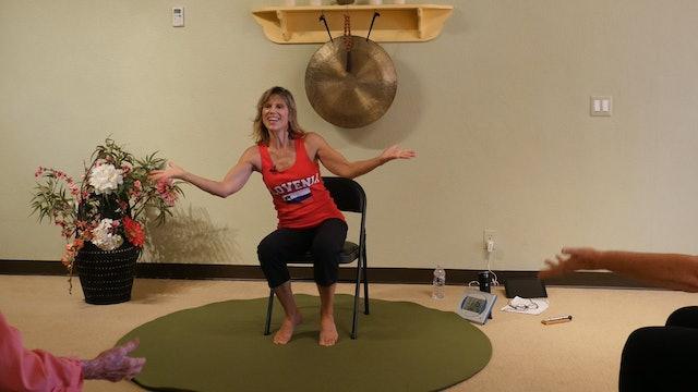 Beer Barrel Polka - Polka Chair Yoga Dance with Sherry Zak Morris