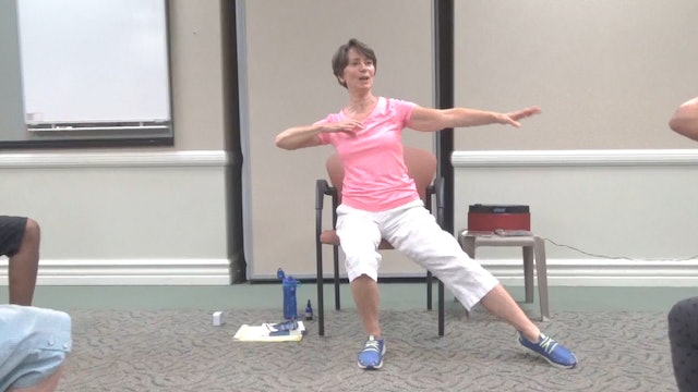 "(1 Hr) ""Picking up the Pace"" Chair Yoga Class with Kathryn Geib"
