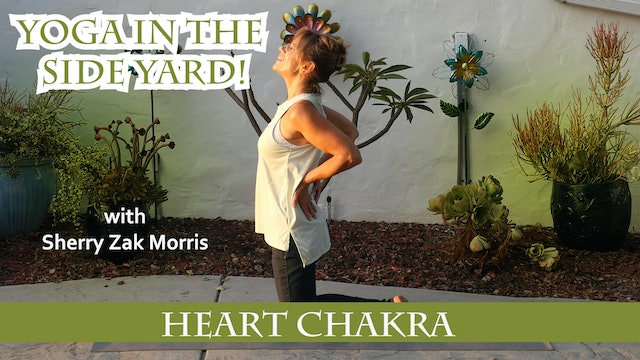 (20-min) Open Your Heart Power Practice with Sherry Zak Morris