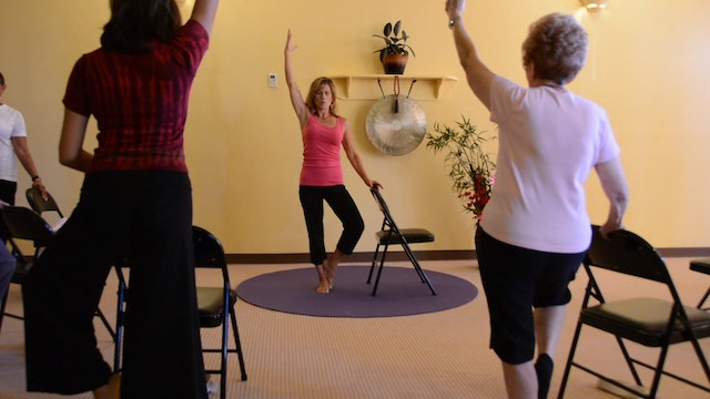 Power Series to Keep Seniors Strong - Energizing Sequence with Sherry Zak Morris