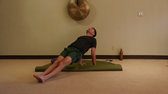 (1 Hr) Gentle Somatic Yoga Strength & Power with James Knight