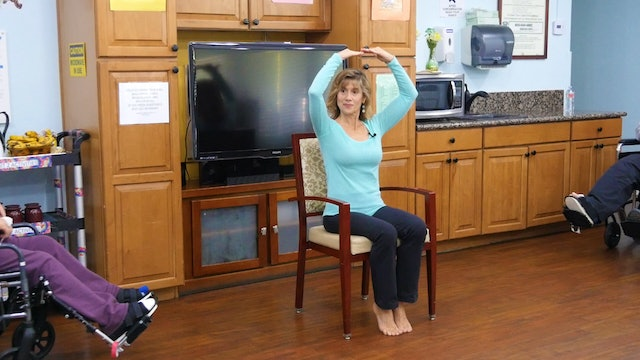 (15-min) Posture Busting Wheelchair Yoga Class with Sherry Zak Morris