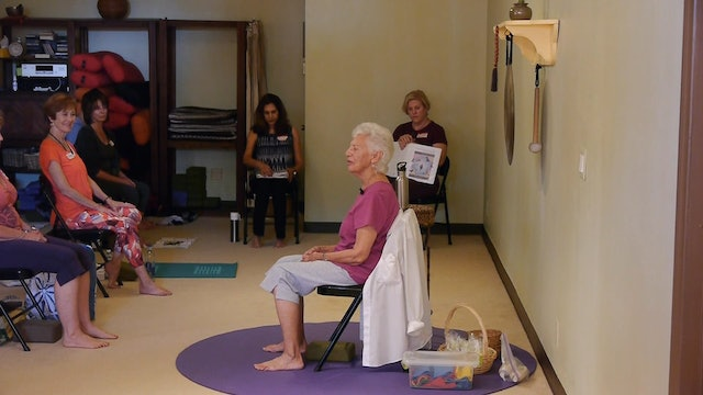 How did a 75 yr old become a Yoga Teacher with Paula Montalvo