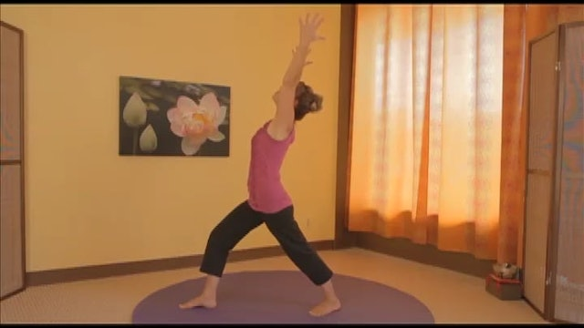 (10-Min) Gentle Yoga Triple Warrior Series with Sherry Zak Morris