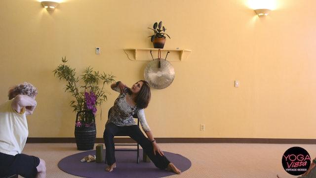 (1 Hr) Chair Yoga Class - Creative Movements for Seniors with Pinush Chauhan