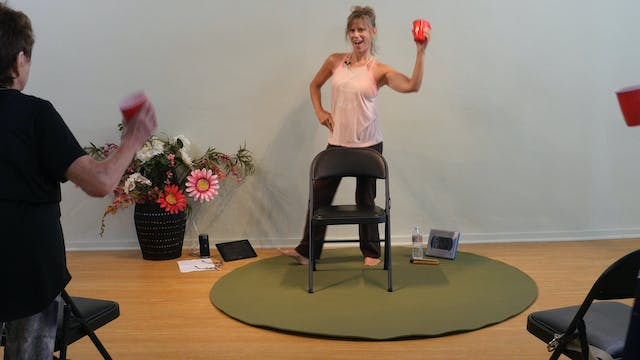 The Git Up - Country Rap Chair Yoga D...
