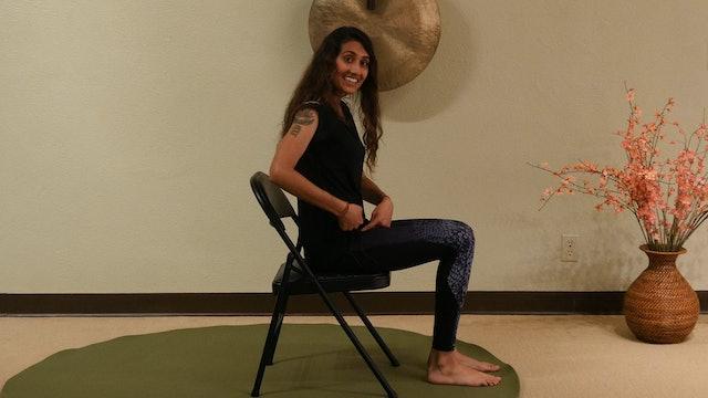 (30-min) Sitting Too Much? Stretch with Smita Vyas