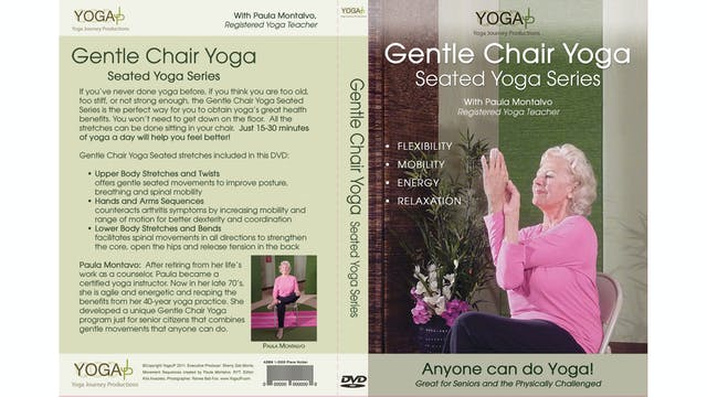 Gentle Chair Yoga - Seated Series wit Paula Montalvo