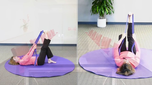 (30-Min) Release Tight Hamstrings with Gentle Stretches with Sherry Zak Morris