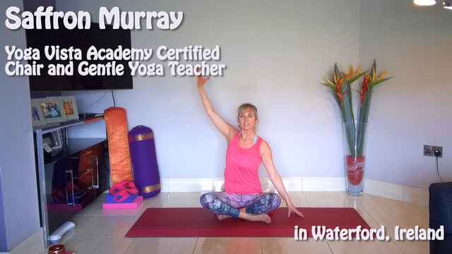 (1 Hr) Gentle Hatha Yoga Class for Asymmetry with Saffron Murray in Ireland
