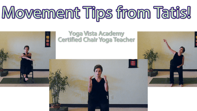 Movement Tips to Keep you Safe & Healthy with Tatis Cervantes-Aiken