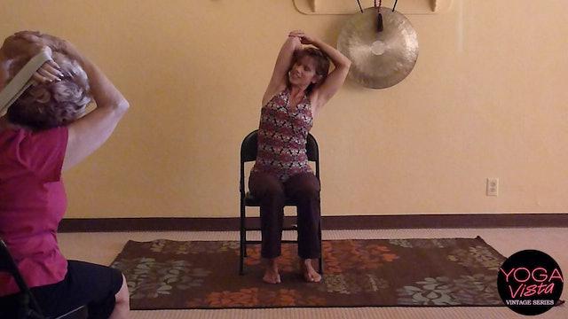 (1 Hr) Belt Boost Benefits - Chair Yoga Class with Sherry Zak Morris