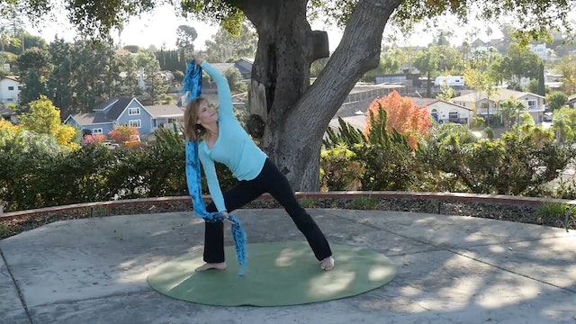 (30-min) Take A Chill Pill and Just Stretch! with Sherry Zak Morris