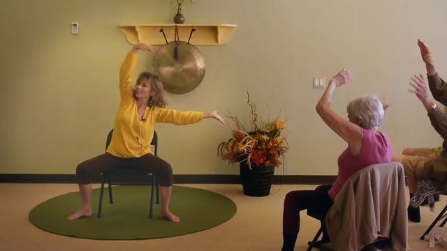 Giving Thanks - Joy & Gratitude Chair Yoga Dance