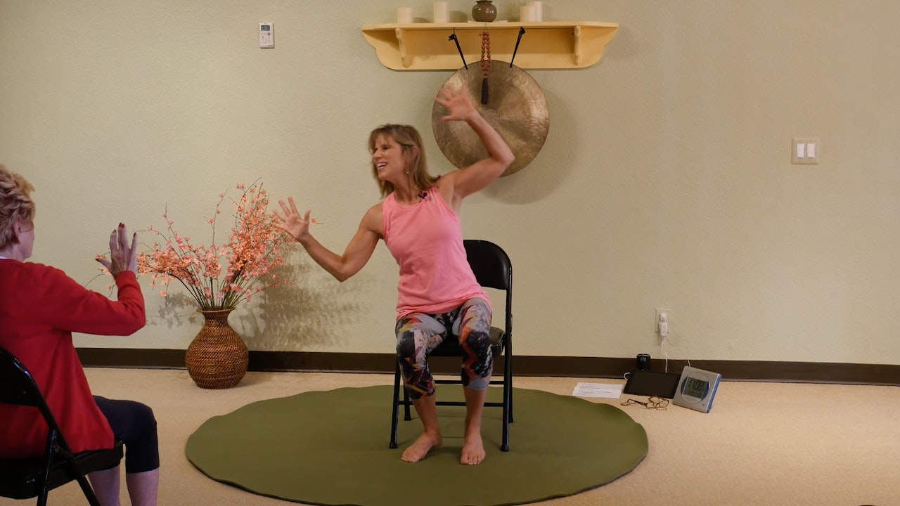 All Dancing!!! Chair Yoga Dance Classes
