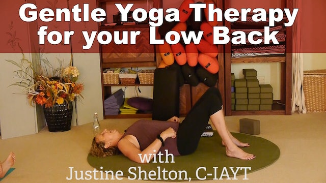 Go-To Yoga Pose for Low Back Relief with Justine Shelton