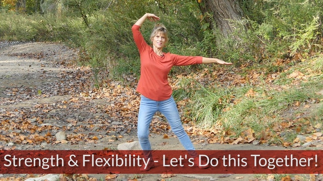 Yoga for Strength & Flexibility with Sherry Zak Morris, Certified Yoga Therapist