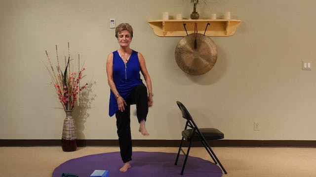 (45-Min) Vibrant Aging Yoga - Standing Yoga Series with Tatis Cervantes-Aiken
