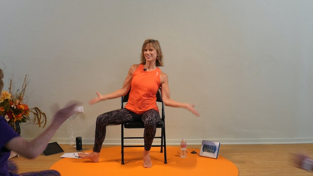 One Less Day (From Dying Young) - Chair Yoga Dance with Sherry Zak Morris