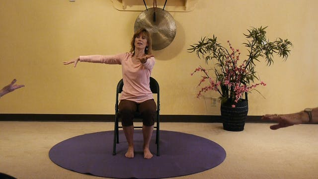 (1 Hr) Chair Yoga Class: Memory, Move...