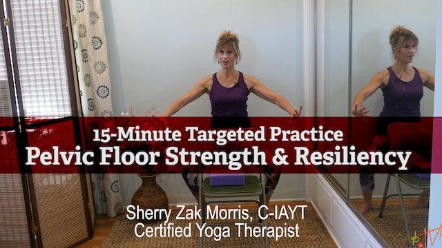 (15-min) Pelvic Floor Strength & Resiliency with Sherry Zak Morris