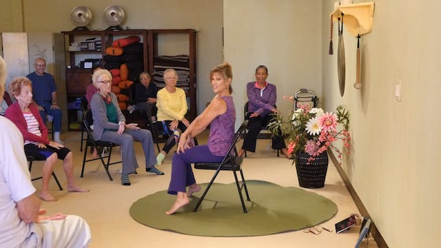 "(1 Hr) Simple Things to Make You and Your Body ""Troll"" Happy! Energizing Chair Yoga Class with Sherry Zak Morris"