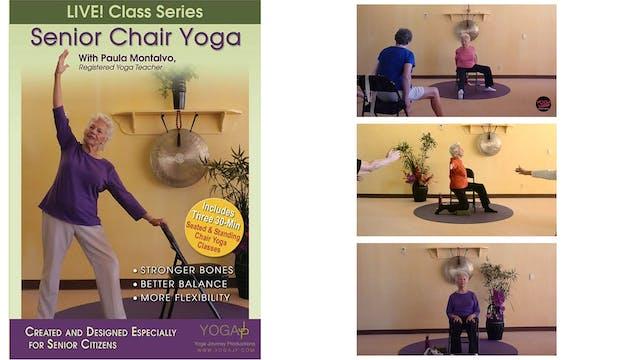 LIVE! Senior Chair Yoga with Paula Montalvo