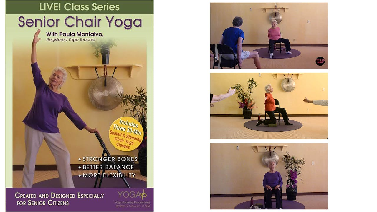 LIVE! Senior Chair Yoga with Paula Montalvo