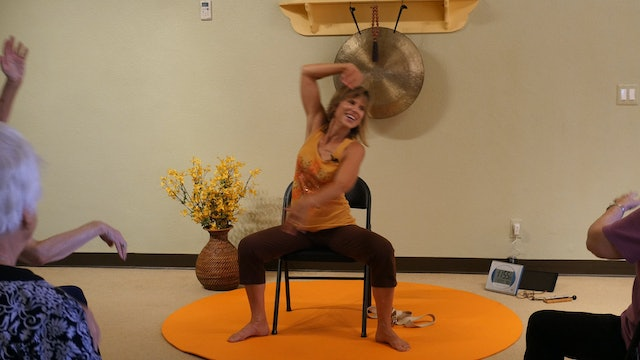 (1 Hr) Get Moving and Heal Better with Chair Yoga! Led by a Sherry Zak Morris