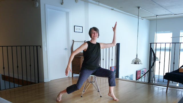(1 Hr) Chair Yoga Fusion Class with S...