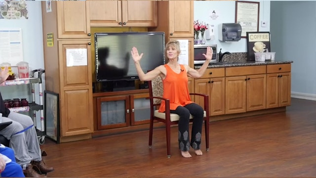 (15-min) Moving and Oiling the Joints - Wheelchair Yoga Class with Sherry Zak Morris