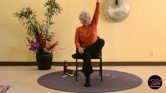 (1 Hr) Lotus Live Chair Yoga Class with Paula