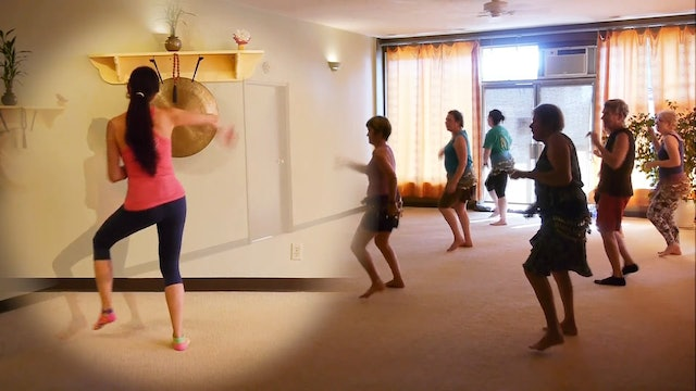 """Beating Cancer with Dancing! """"Crazy Love"""" Zumba with Alessandra Colfi"""
