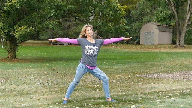 BONUS! Yoga in the Backyard at Mom and Dad's! with Sherry
