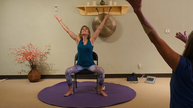 The River - Chair Yoga Dance with Sherry Zak Morris - Our Anthem!