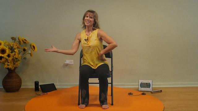 Que Sera Sera by Doris Day - Chair Yoga Dance with Sherry Zak Morris